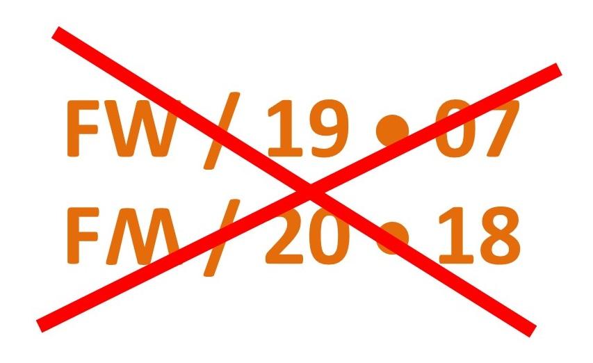 FWFM-2018 cancelation