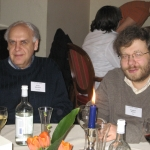 With Eugeane Asarin. Aachen, Germany, 2007