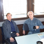 With Luoshan Xu, Siegen, Germany, 2005