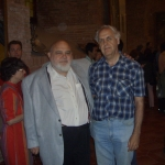With Anil Nerode. Siena, Italy, 2007